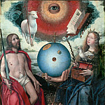 Part 4 Louvre - Jan Provoost (c. 1465-1529) -- Sacred Allegory