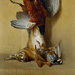 Part 4 Louvre - Jean-Baptiste Oudry -- Pheasant, Hare, and Red Partridge