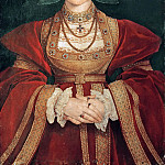 Anne of Cleves (1515-1557), fourth wife of King Henry VIII, Hans The Younger Holbein