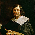 Self-Portrait with Palette, Francesco Vanni
