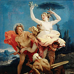Part 4 Louvre - Giovanni Battista Tiepolo -- Apollo and Daphne
