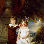 Part 4 Louvre - William Beechey -- Brother and Sister