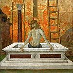 Part 4 Louvre - Perugino (c. 1450-1523) -- Christ in the Tomb