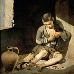 Bartolomé Estebán Murillo -- The Young Beggar, Part 4 Louvre