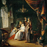 Gerrit Dou -- The Dropsical Woman, Part 4 Louvre