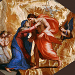Part 4 Louvre - Jacques Stella -- Christ receives the Virgin in Heaven