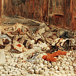 Part 4 Louvre - Jean Louis Ernest Meissonier -- The barricade in rue Mortellerie, Paris, June 1848