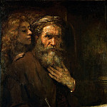 Rembrandt van Rijn -- Saint Matthew and the Angel, Part 4 Louvre