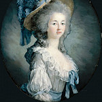 Joseph Boze -- Portrait of Marie Louise of Savoy , Part 4 Louvre