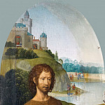 Hans Memling -- Saint John the Baptist, Part 4 Louvre