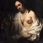 Willem Drost -- Bathsheba receiving David's letter, Part 4 Louvre