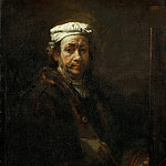 Part 4 Louvre - Rembrandt van Rijn -- Rembrandt at the Easel