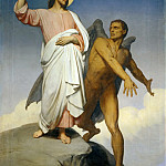 Ary Scheffer -- Christ Tempted by the Devil, Part 4 Louvre