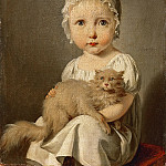 Louis Léopold Boilly -- Gabrielle Arnault as a Child, Part 4 Louvre
