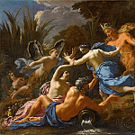 Part 4 Louvre - Michel Dorigny -- Pan and Syrinx