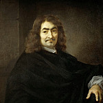 Part 4 Louvre - Sébastien Bourdon (1616-1671) -- René Descartes (presumed portrait)