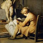 Jan Lievensz. -- The Young Draftsman, Part 4 Louvre