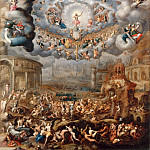 Jean Cousin the younger -- The Last Judgment, Part 4 Louvre
