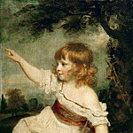 Part 4 Louvre - Joshua Reynolds (1723-1792) -- Master Francis George Hare (d. 1842)