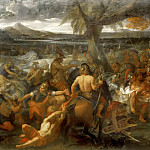 Charles Le Brun -- Alexander the Great and Porus, Part 4 Louvre