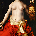 Jan Massys -- Judith with the head of Holofernes, Part 4 Louvre