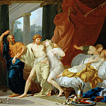 Part 4 Louvre - Jean-Baptiste Regnault (1754-1829) -- Socrates Dragging Alcibiades from the Arms of Voluptuous Pleasure