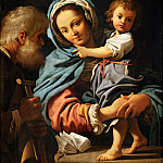Bartolomeo Schedoni -- Holy Family, Part 4 Louvre