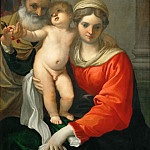 Part 4 Louvre - Annibale Carracci (1560-1609) -- Madonna and Child with Cherries