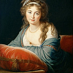 Elisabeth Louise Vigée-LeBrun -- Countess Skavronskaia, Part 4 Louvre