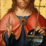 Part 4 Louvre - Joos van Cleve -- Christ as Savior of the World (Salvator mundi)