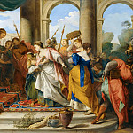 Part 4 Louvre - Nicolas Vleughels -- Solomon and the Queen of Sheba