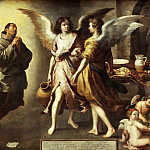 Bartolomé Estebán Murillo -- The Angels' Kitchen, Part 4 Louvre
