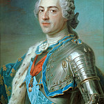 Maurice-Quentin de La Tour -- Louis XV, King of France, Part 4 Louvre