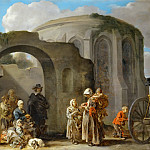 Part 4 Louvre - Sébastien Bourdon (1616-1671) -- The Beggars