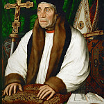 Hans Holbein the Younger -- William Warham , Archbishop of Canterbury, Part 4 Louvre