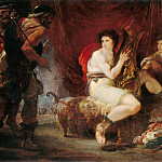 Part 4 Louvre - iuseppe Cades -- Achilles in his Tent with Patroclus, Playing a Lyre, surprised by Ulysses and Nestor