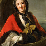 Part 4 Louvre - Jean-Marc Nattier -- The Comtesse Tessin