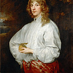 Anthony van Dyck -- James Stuart, 4th Duke of Lennox and 1st Duke of Richmond , Part 4 Louvre