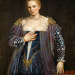Paolo Veronese -- Portrait of a Venetian Woman, called La bella Nani, Part 4 Louvre