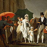 Louis Léopold Boilly -- The Downpour, Part 4 Louvre