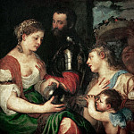 Part 4 Louvre - Titian -- Allegory of Marriage Speaks to Alphonse d'Avalois, Marquis del Vasto