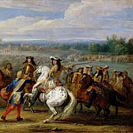 Part 4 Louvre - Adam Frans van der Meulen -- Crossing the Rhine