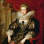 Part 4 Louvre - Peter Paul Rubens -- Anne of Austria, Queen of France