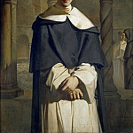Théodore Chassériau -- Father Dominique Lacordaire of the Dominican Order, Part 4 Louvre