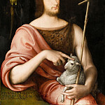 Part 4 Louvre - Jean Clouet -- Portrait of François Ier as St. John the Baptist