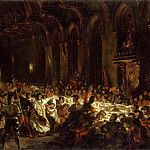 The Assassination of the Bishop of Liege, Ferdinand Victor Eugène Delacroix