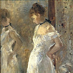 The Cheval Glass, Berthe Morisot