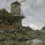 Maris, Jacob -- De molen, 1880-1886, Rijksmuseum: part 3