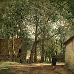 Boerenerf, 1820-1830, Andreas Schelfhout