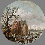Goyen, Jan van -- Winter, 1625, Rijksmuseum: part 3